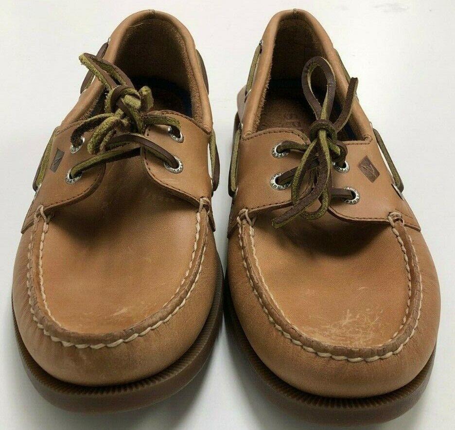 Men's Sperry Authentic Original Leather Boat shoes - Sahara           Size  9M