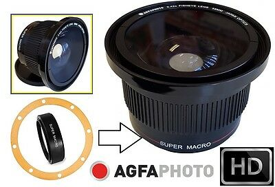 Super Wide HD Fisheye Lens for Canon Powershot SX30 IS