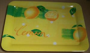Plateau-plastique-29-8X41-6cm-citron-lemon-jaune-vert