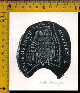 Ex Libris Originale Germania Germany Aulitzky 1420 M1sdruoy-08011627-718442587