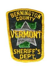RARE VERMONT STATE POLICE TROOP D BRATTLEBORO   BARRACKS STATE HIGHWAY PATROL
