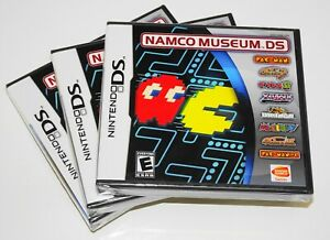 NAMCO-MUSEUM-034-8-GAMES-IN-1-034-Nintendo-DS-2007-2DS-3DS-NEW-SEALED-RARE
