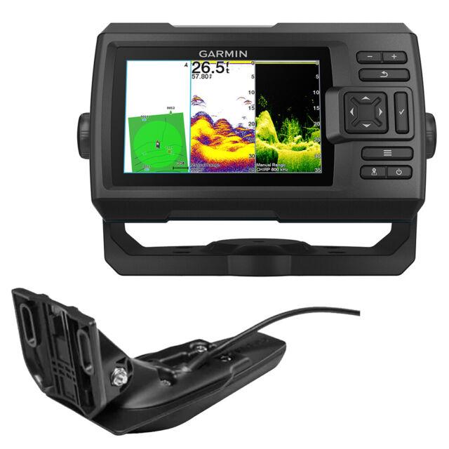 Garmin STRIKER Vivid 5cv Fish Finder GPS Combo W/GT20-TM Transducer 010-02551-00