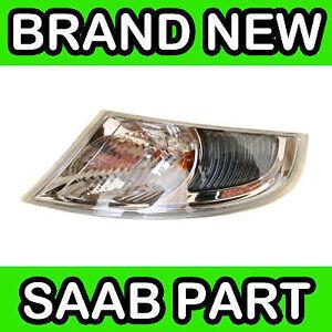 Saab 9-5 02-05 Left Front Indicator Lamp // Light // Lens
