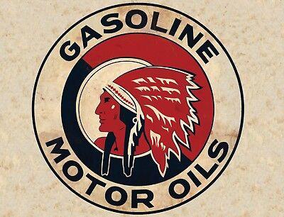 "TIN SIGN /""Texaco Star/"" Gas-Oil Games Signs  Rustic Wall Decor"