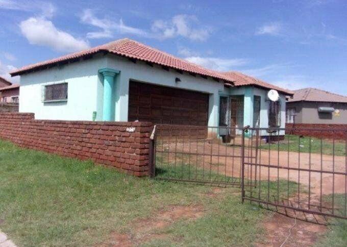 3 Bedroom with 1 Bathroom House For Sale Mpumalanga