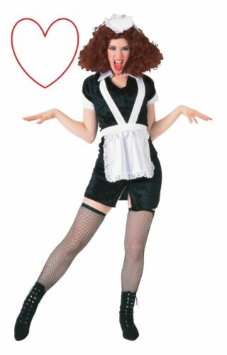 Ladies Girls Magenta Outfit Costume Rocky Horror Show Halloween