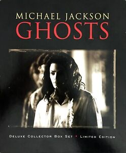 COFFRET-BOX-SET-DELUXE-COLLECTOR-MICHAEL-JACKSON-GHOSTS-LIMITED-EDITION-COMPLET
