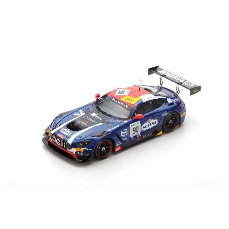 Spark SB140 - MERCEDES AMG GT3 N 90 AKKA ASP 3ème 24 H Spa 2017 1/43