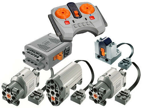 Lego Power Functions Functions Functions SET 5-S (technic,motor,receiver,remote,servo,large,box,car) 94235f
