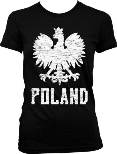Poland Eagle Polish Pride Rzeczpospolita Polska Warsaw Polski Juniors T-shirt