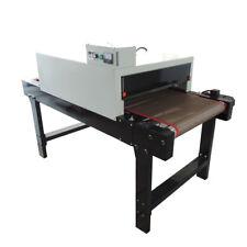 Silk Screen Printing Conveyor Tunnel Dryer 256 X 82ft Belt 220v 7200w Sea