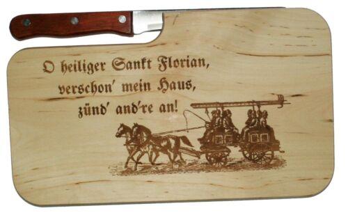 O Saint Sankt Florian croute PLANCHE pompiers FFW 112