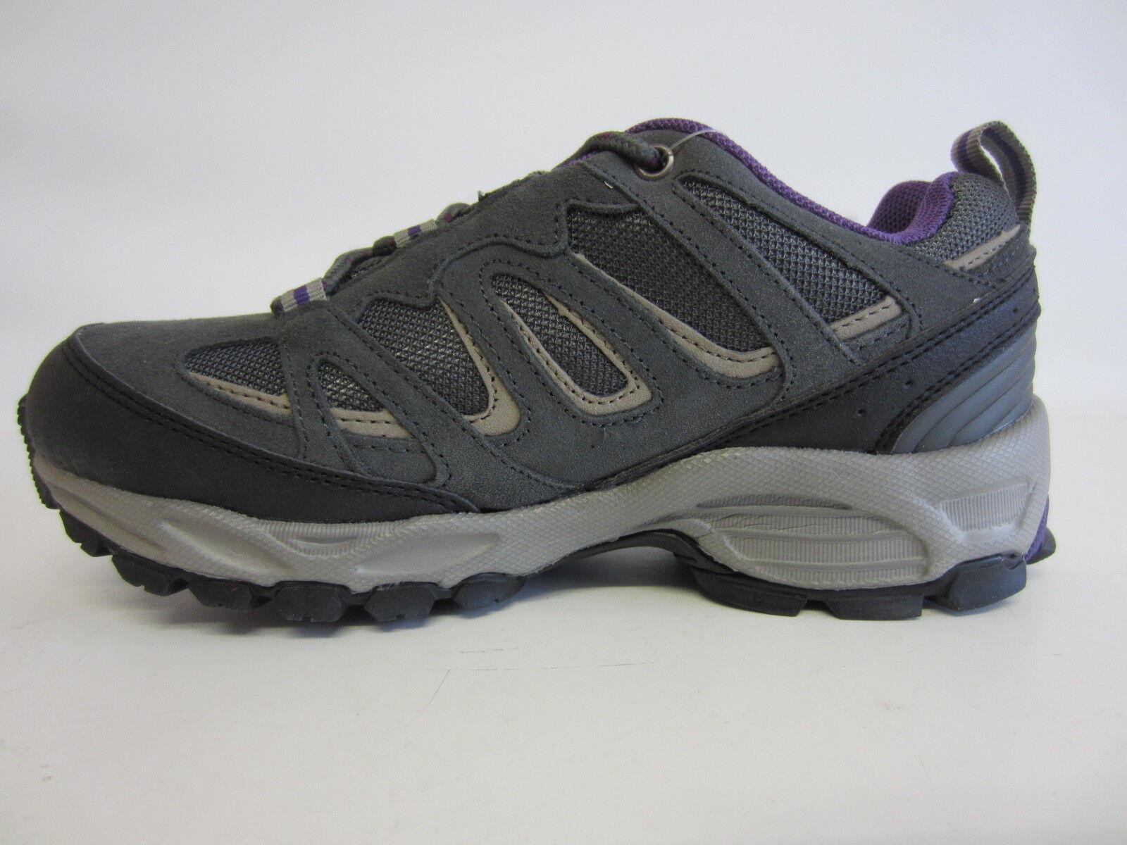 Hi-Tec Fusion Ladies Sport Grey Beige Purple Trainers (R26B) (Kett)