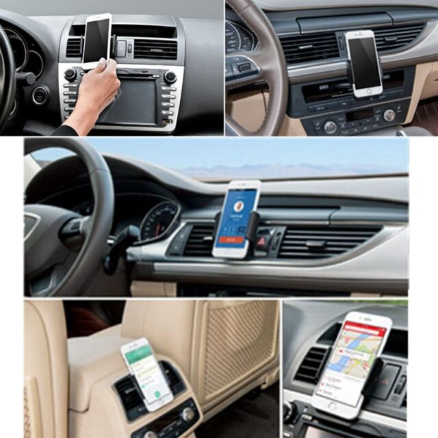 NEW 360° Adjustable Car Air Vent Mount Holder Stand Cradle For Mobile Phone GPS