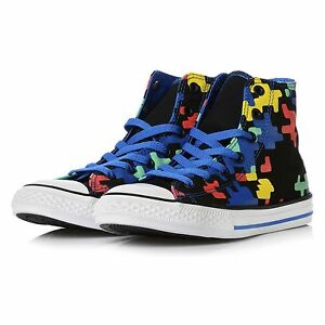 CONVERSE CHUCK TAYLOR ALL STAR GAMING PRINT SHOE SCARPE ORIGINALE 656030C
