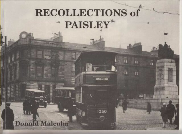 Recollections of Paisley : Donald Malcolm