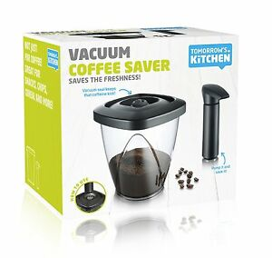 Image Is Loading Vacu Vin Coffee And Tea Storage Container With