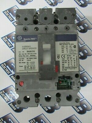 GE GENERAL ELECTRIC SEHA 3 pole 100 amp 600v SEHA36AT0100 Circuit Breaker