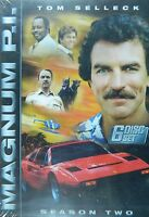 Magnum P.i. The Complete Second Season 18+ Hours 22 Episodes 3-disc Set Sealed
