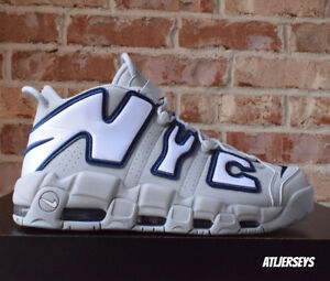 Nike Air More Uptempo NYC New York City QS Grey Navy AJ3137-001 Size 8-13