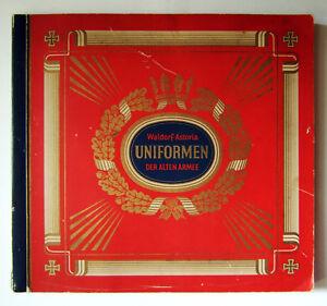 Uniformen-der-alten-Armee-Waldorf-Astoria-312-Zigarettenbilder-komplett