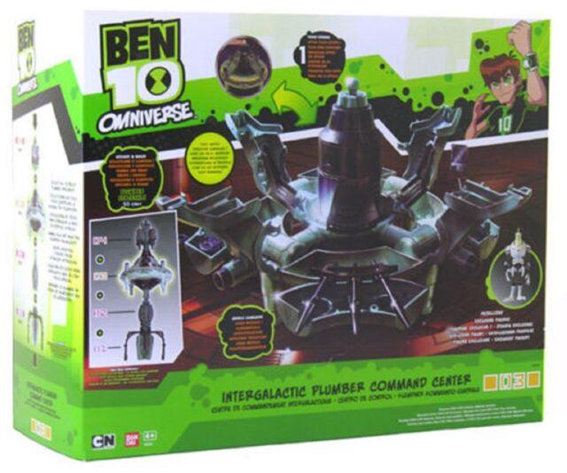 Ben 10 Omniverse Intergalactice Plumber Command & Exclusive Petalliday Figure