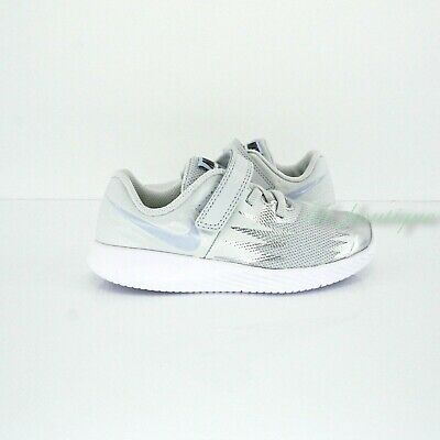 Supone Principiante bañera  Nike 907256-003 Star Runner Sneakers Toddler Shoes Platinum Mint White No  Box 7C | eBay