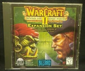 WarCraft-II-Beyond-the-Dark-Portal-PC-1995-Mint-Disc-1-Owner