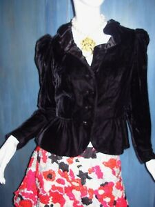 817252b7 Image is loading Vtg-80s-HARRY-ACTON-Party-Collectibles-VELVET-RUFFLE-
