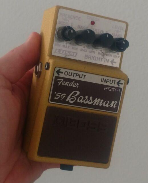 NEW Boss FBM-1 Fender /'59 Bassman Effects Pedal Case