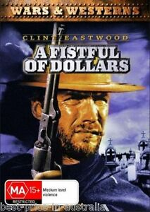 A-Fistful-Of-Dollars-1964-DVD-BRAND-NEW-TOP-250-MOVIE-CLINT-EASTWOOD-WESTERN-R4