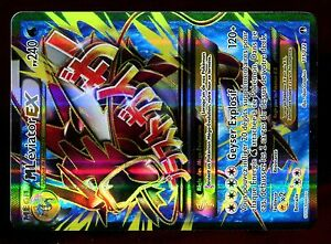 Détails Sur Pokemon Xy9 Rupture Turbo Holo N 115 122 Mega Leviator Ex Full Art 240 Pv