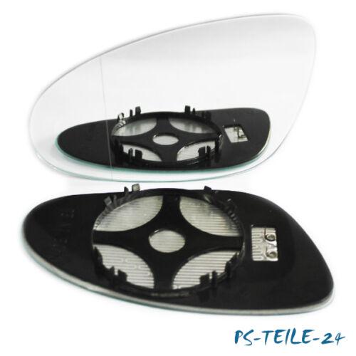 Miroir de verre pour mercedes classe s w221 2005-2009 gauche asphärisch Chauffable