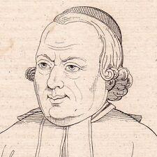 Portrait Charles-Michel de L'Épée Sourds Muets Versailles Langage des Signes