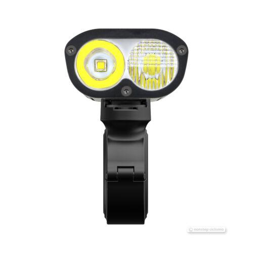 Ravemen PR1600 USB Rechargeable Dual Beam Bicycle Head Light w//Remote 1600 Lumen