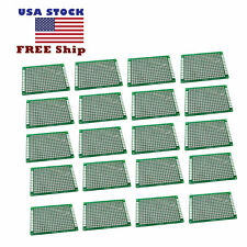 20 X Double Side 4x6 Cm Prototype Universal Pcb Board Fr 4 Glass Fiber Us Stock