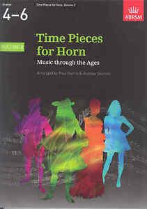 DéVoué Time Pieces For Horn Vol 2 Harris/skirrow-afficher Le Titre D'origine Et D'Avoir Une Longue Vie.