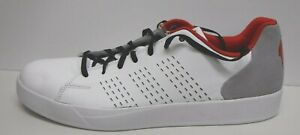 Adidas-Size-12-White-Leather-Sneakers-New-Mens-Shoes