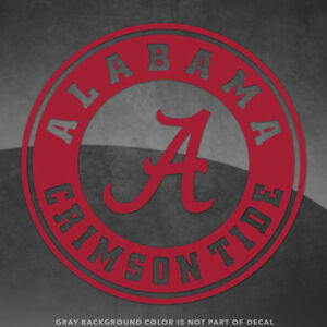 Alabama Crimson Tide Bama Vinyl Decal Sticker 4 Quot And Up