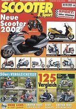 Scooter 6 2001 CPI Popcorn 50 Kymco Dink 50 Honda Gold Wing 1800 Vespa ET4 Tmax