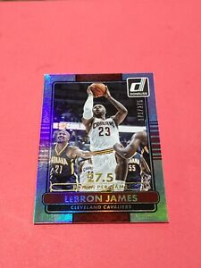 2014-15-Donruss-Stat-Line-Career-170-LeBron-James-171-275-Gold-Stat-Line