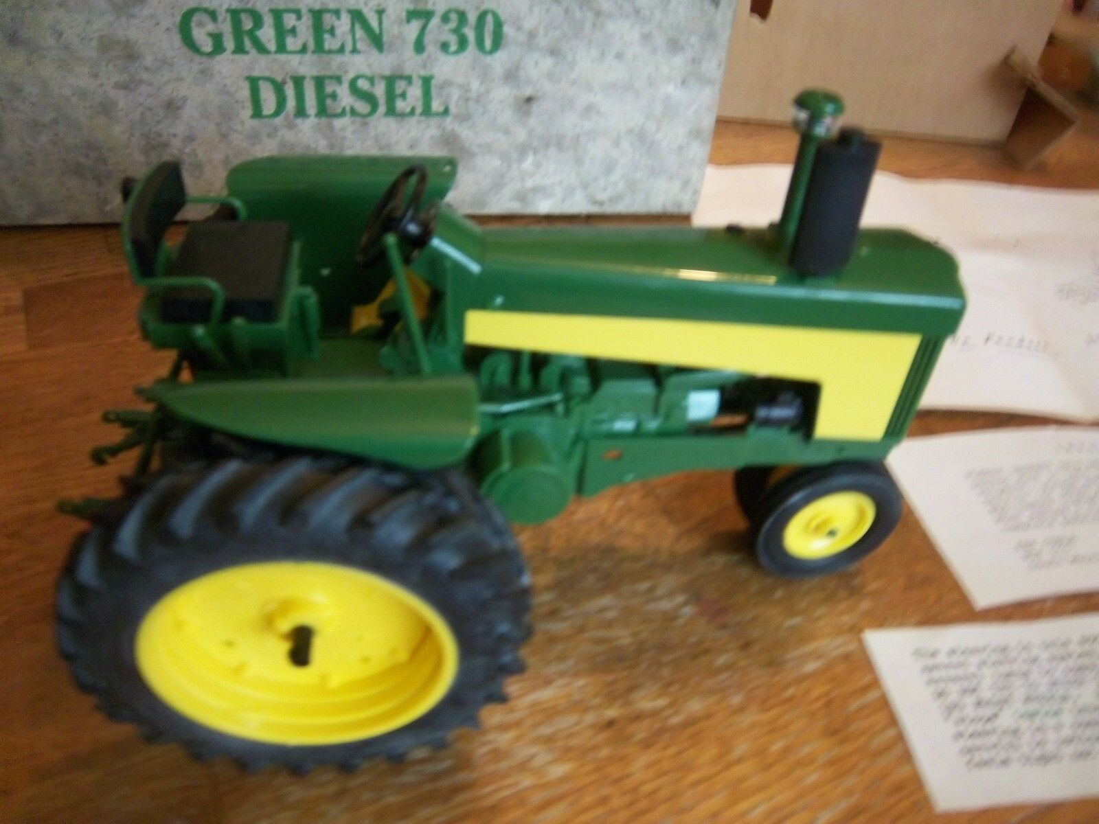 John Deere 730 Lafayette Show Tractor 1987 Spec. Edtn. Edtn. Edtn. by Yoder in 1 16th scale 55868d