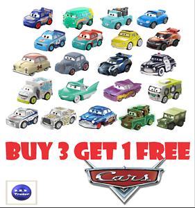 Disney-Pixar-Cars-Mini-Micro-Racers-Blind-Bag-BRAND-NEW-Pick-your-own-4-FOR-3