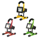 Portable Cordless Work Light Rechargeable LED Flood Spot Camping Hiking Lamp 10W