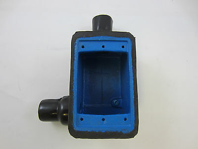 "OCAL T/&B THOMAS /& BETTS  FDT2-G  PVC COATED 1-G FS BOX W// 3//4/"" HUBS ROBROY"