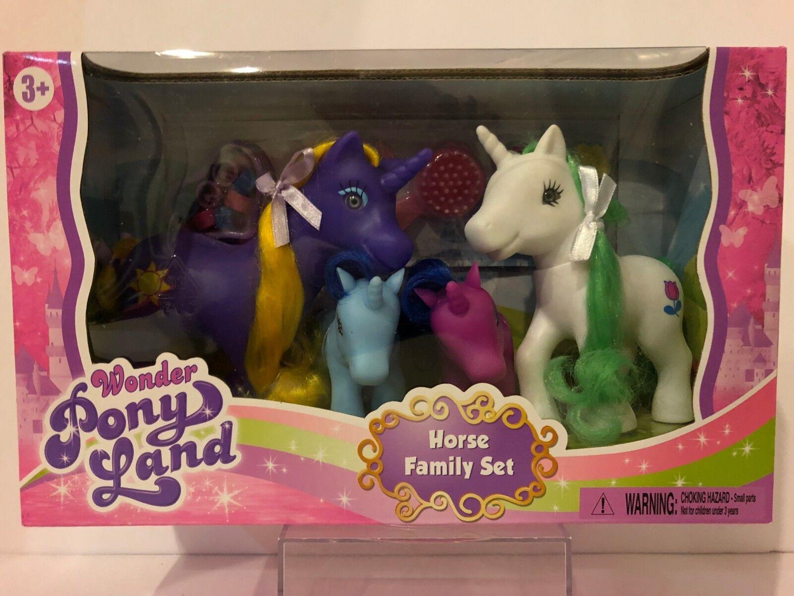 Wonder Pony Land Pretty Horse Set Toy Colour May Vary Gigo Toys For Sale Online Ebay