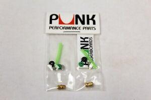 Punk-Fingerboard-Tuning-Kit-Lock-Nuts-Green-Bushings-Pivot-Cups-Steel-Washers