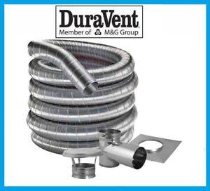 Duraflex Pellet Stove 3 Quot Inner Diameter Stainless Steel