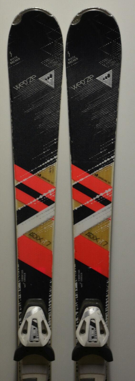 Skis parabolic used WED'ZE Adix 7 + Bindings - 156cm & 163cm